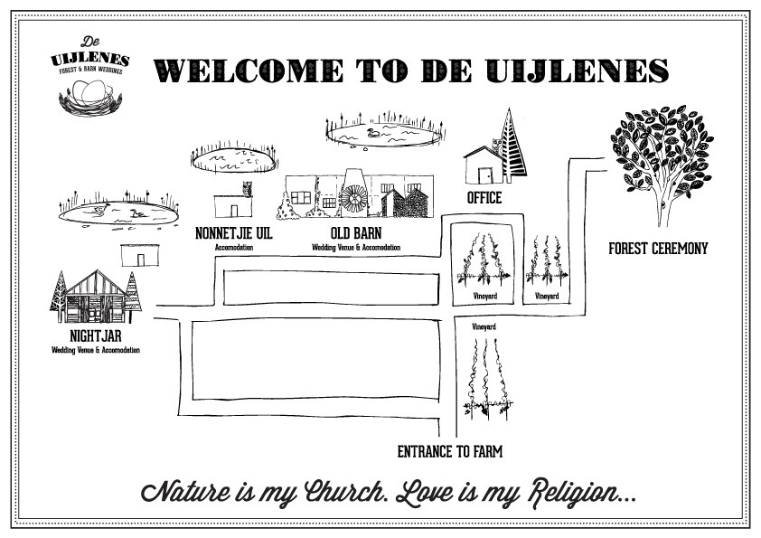 De Uiljenes map