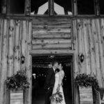 Kiss at entrance